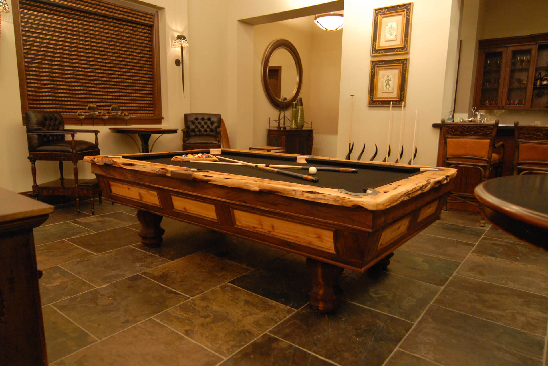 african-tropical-florida-pool-table