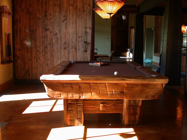 Lake Tahoe pool table