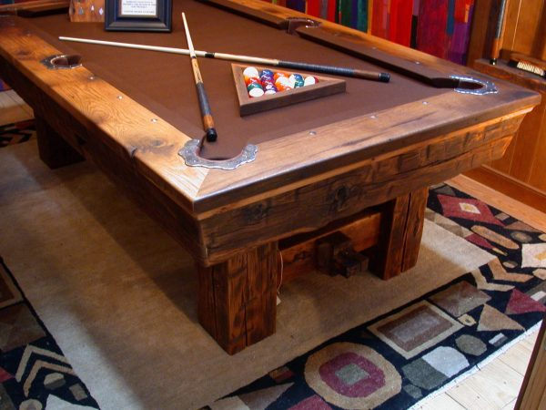 timber-oak-rustic-pool-table-showroom